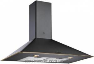 Teka DOS 60 (Rustica) Вытяжка кухонная черный, кант золото 40489302