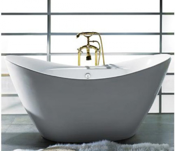 Ванна акриловая овальная Volle 170х77х77 12-22-210