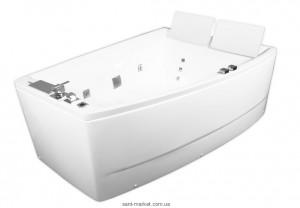 Ванна гидромассажная акриловая угловая Volle 170х120х63 12-88-100/L