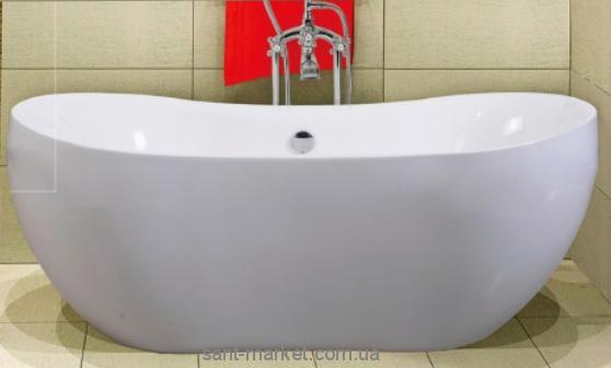 Ванна акриловая овальная Volle 170х80х65 12-22-116