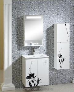 Раковина для ванной на тумбу умывальник-столешница Estandar коллекция La Fleur белый La Fleur1
