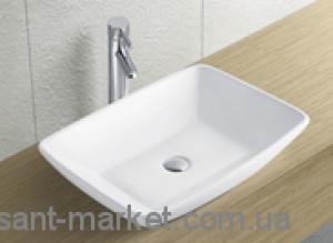 Раковина для ванной накладная Estandar коллекция Empire белая Monza005061