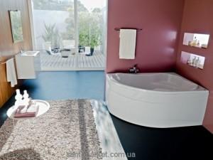 Ванна акриловая угловая Kolpa-san коллекция Lulu 170х110х53