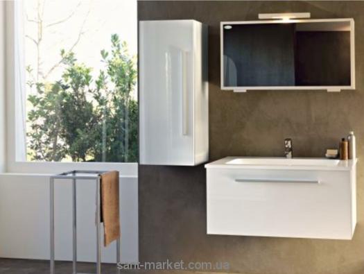 Kolpa-san Набор мебели для ванной белый/красный Hana 80