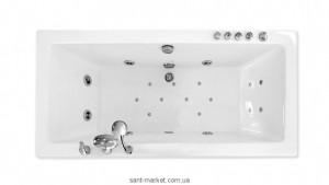 Ванна гидромассажная акриловая прямоугольная Triton Валенсия 170х75х65