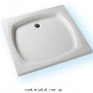Душевой поддон акриловый квадратный Kolpa-san Samba 70x70х7.5 белый Samba 70
