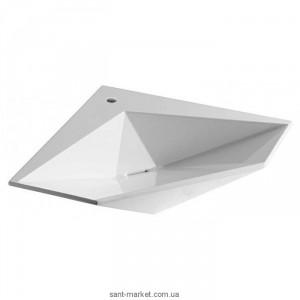 Раковина для ванной подвесная Olympia коллекция Crystal белая 34.KR