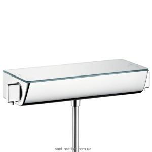 Смеситель для душа настенный двухвентильный с термостатом Hansgrohe Ecostat Select хром 13111000