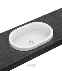 Раковина для ванной встраиваемая Villeroy & Boch коллекция Architectura белая 41666001