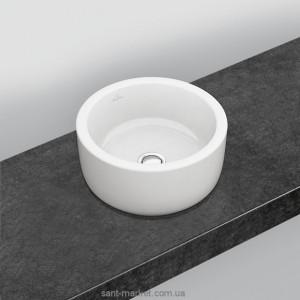 Раковина для ванной накладная Villeroy&Boch коллекция Architectura белая 41254001