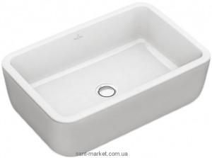 Раковина для ванной накладная Villeroy & Boch коллекция Architectura белая 41276001