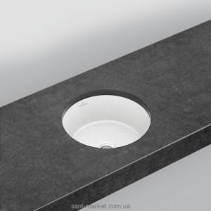 Раковина для ванной встраиваемая Villeroy&Boch коллекция Architectura белая 41754001
