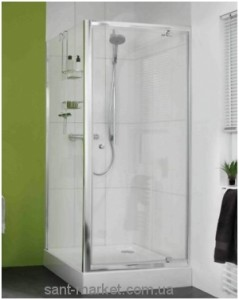 Душевая дверь в нишу Huppe X0 стеклянная распашная 100х185 620303.069.321