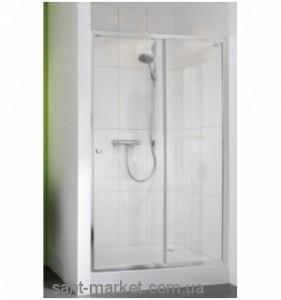 Душевая дверь в нишу Huppe X0 стеклянная раздвижная 120х185 620201.069.321