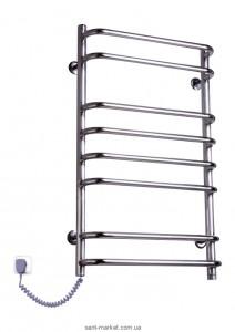Электрический полотенцесушитель Elna 500х830х130 лесенка хром Стандарт-8 (нерж)