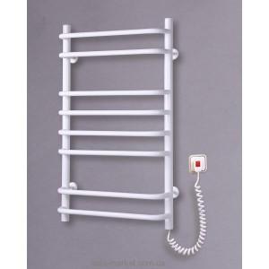Электрический полотенцесушитель Elna 500х830х130 лесенка Стандарт-8 (белый)
