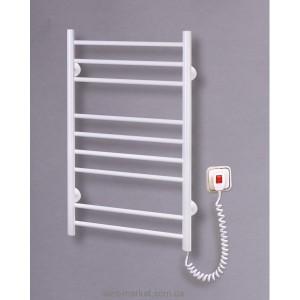 Электрический полотенцесушитель Elna 480х880х80 Лесенка-9 (белая)