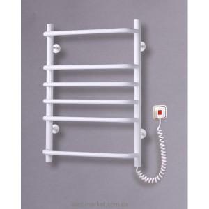 Электрический полотенцесушитель Elna 500х680х130 лесенка Стандарт-6 (белый)