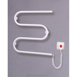 Электрический полотенцесушитель Elna 500х550х70 Змейка М (белая)