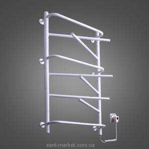 Электрический полотенцесушитель Elna 540х950х140 лесенка Элна-9 поворотная (белая)