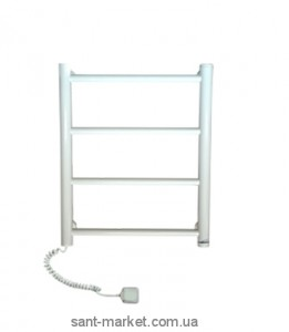 Электрический полотенцесушитель Elna 400х510х80 Лесенка-4 (белая)