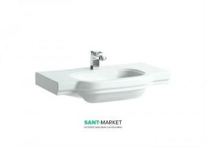 Раковина для ванной на тумбу умывальник-столешница Laufen коллекция LB3 белая H8106860001041