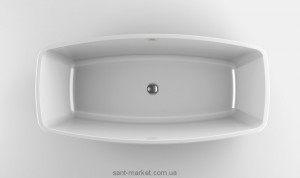 Ванна акриловая нестандартная Jacuzzi коллекция Esprit 170х80х57 9443815А