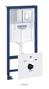 Система инсталляции для подвесного унитаза Grohe Rapid SL Fresh 4в1 50х113х14,5 38827000