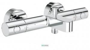 Смеситель с термостатом двухвентильный для ванны Grohe коллекция Grohtherm 1000 хром 34215002