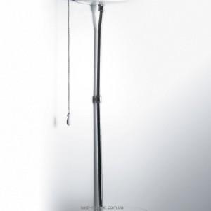 Simas Высокая труба с механизмом слива для бачка,хром R01 CR