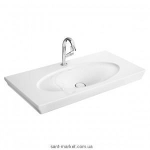 Раковина для ванной подвесная умывальник-столешница Villeroy & Boch коллекция La Belle белая 612411R2