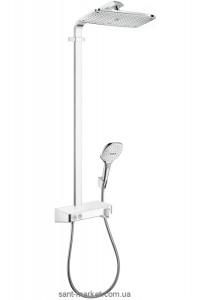 Hansgrohe Душевая система Raindance Select E 360 1jet ST Showerpipe 27288400