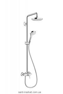 Hansgrohe Душевая система Croma Select S 180 2jet Showerpipe 27255400