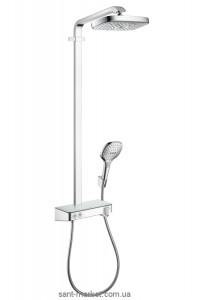 Hansgrohe Душевая система Raindance Select E 300 2jet ST Showerpipe EcoSmart 9 л/мин 27283000