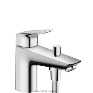Смеситель для ванны однорычажный Hansgrohe коллекция Logis хром 71312000