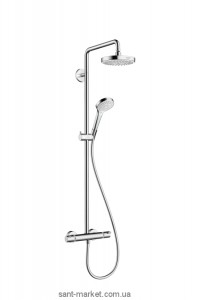 Hansgrohe Душевая система Croma Select S 180 2jet Showerpipe 27253400