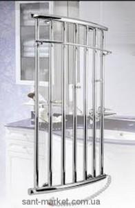 Электрический полотенцесушитель Laris Ларис П Э 500x900х30 дизайнерский хром 73207195