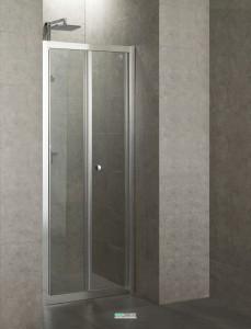 Душевая дверь в нишу Eger стеклянная раскладная 90х185 599-163-90