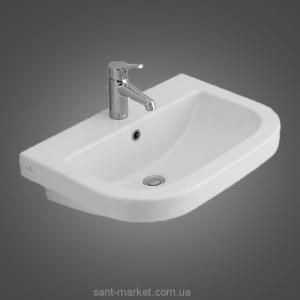 Раковина для ванной подвесная Villeroy & Boch коллекция Verity белая 51796001