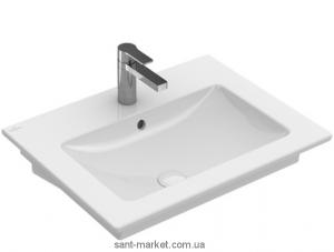 Раковина для ванной подвесная Villeroy&Boch коллекция Venticello белая 41246001