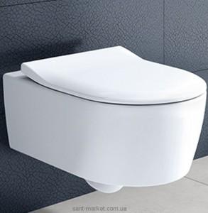 Унитаз подвесной Villeroy&Boch коллекция Avento Direct Flush 5656RS01 + Сиденье в комплекте