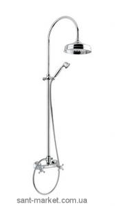Bugnatese Душевая колона Lady в комплекте смеситель верхняя душ лейка ручной душ хром LADCR947C