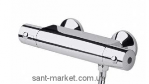 Смеситель для душа настенный двухвентильный с термостатом Ideal Standard Ceratherm хром A4508AA