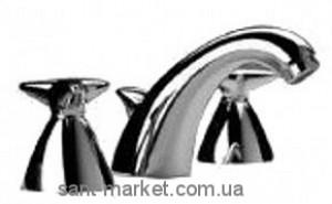 Смеситель для раковины двухвентильный скрытый с донным клапаном Ideal Standard Stemma хром N9693AA