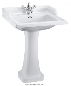Раковина для ванной на пьедестал Burlington коллекция Classic белая B15 1TH