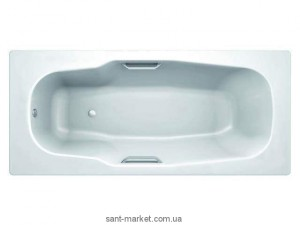 Ванна стальная Koller Pool Atlantica 180x80 с отверстием для ручек B80J8H00E