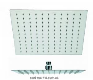 Лейка для верхнего душа с тропическим душем La Torre коллекция Dado хром SOFF EXTRA QUA 300
