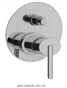 Смеситель скрытый (встраиваемый) La Torre коллекция Ovaline хром 26050R