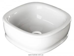 Раковина для ванной накладная Artceram коллекция Azuley белая AZL001