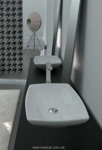 Раковина для ванной накладная Artceram коллекция JAZZ белая JZL002